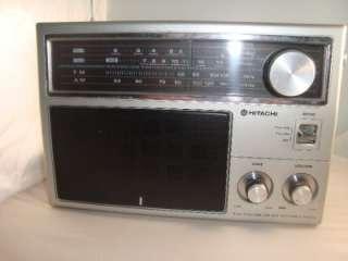 Hitachi Portable Radio TV1/TV2/WB/FM/AM KH 1180H Tested