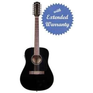 Fender CD 160SE 12 String Dreadnought Acoustic Electric Guitar
