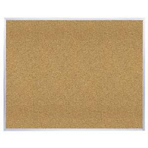 Ghent 4 x 8 Feet Aluminum Frame   Natural Cork Board (AK48