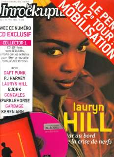 Les Inrockuptibles #336   Lauryn HILL   + CD exclusif