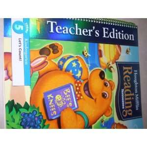 Houghton Mifflin, Reading Tennessee, Theme 5, Kindergarden