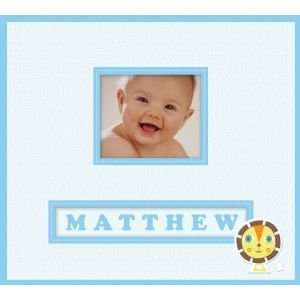 FRAME A NAME SCPBOOK BABY BOY Papercraft, Scrapbooking
