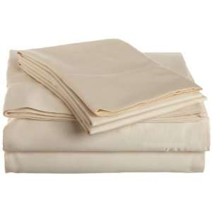 Mercerized Cotton 600 Thread Count Hemstitch King Sheet