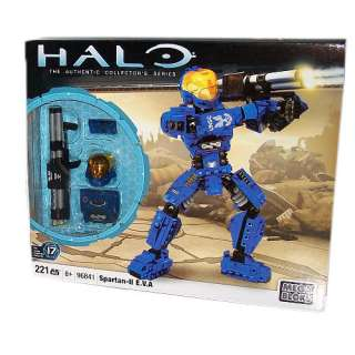 Mega Bloks Halo Wars Buildable Figure   Spartan II E.V.A. (96841