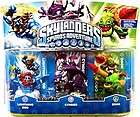 Skylanders Spyro Adventure LIGHTNING ROD, ZOOK, CYNDER 3 Pack IN HAND