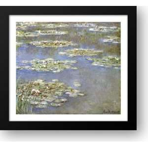Nympheas, 1905 38x35 Framed Art Print by Monet, Claude