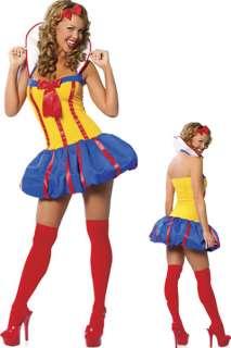 Vestito Carnevale COSTUME BIANCANEVE Festa Halloween