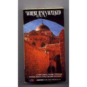 Where Jesus Walked [VHS] Questar Video Movies & TV
