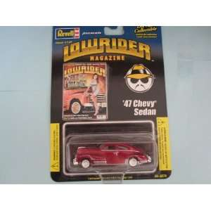 47 Chevy Sedan Lowrider Magazine Series By Revell: Toys & Games