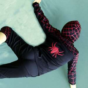 B3 p21 Party Event Boys Spiderman Costume 3,4,5,6,7,8 y