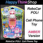 RoboCar POLI Slide Cell Phone Toy AMBER Version   Sound, Voice