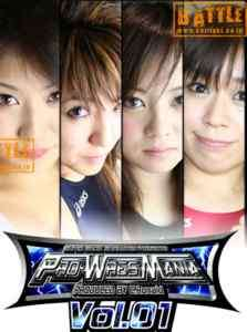 NEW 71MIN Female Women Wrestling Japanese 2 MATCHES!
