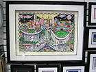 NY Yankees World Series Dreams Charles Fazzino 3 D Art