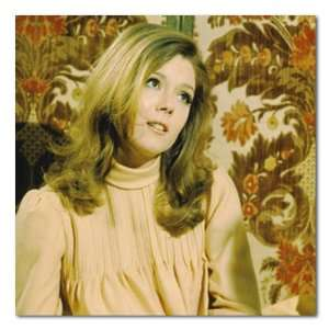 Diana Rigg Color Box Canvas Print Gallery Wrapped (The Avengers)