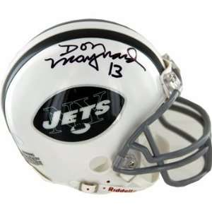 Don Maynard Autographed NY Jets Mini Helmet Sports