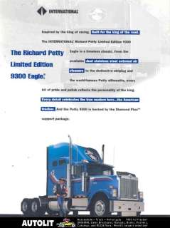 1995 ? International Eagle Richard Petty Truck Brochure