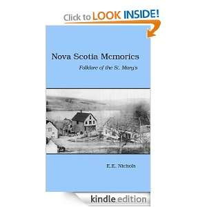 Memories   Folklore of the St. Marys: E.E. Kirk Nichols, Forbes