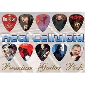 Meat Loaf Premium Guitar Picks X 10 (TR)