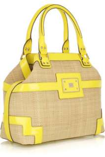 Anya Hindmarch Woven raffia tote   65% Off Now at THE OUTNET