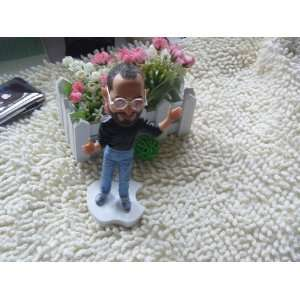 apple ceo Steve Jobs resin figurine figure doll 18cm