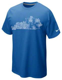 Kentucky Wildcats Royal Nike Logo Art T Shirt