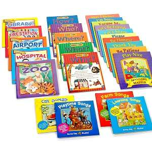 Pack of 20 Kids Books and 4 Full Length CDs at HSN