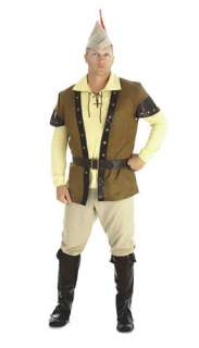 Adult Renaissance Costumes Male Costumes Deluxe Robin Hood Costume