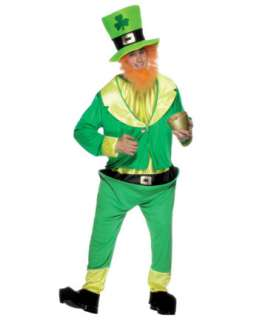 Halloween Costumes > Mens Costumes > Classic > Mens Leprechaun