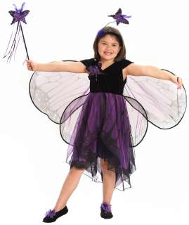 Purple and Black Butterfly Costume   Fairy Costumes
