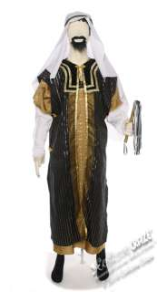 Super Deluxe Sultan Sheik Adult Costume   Arab Costumes