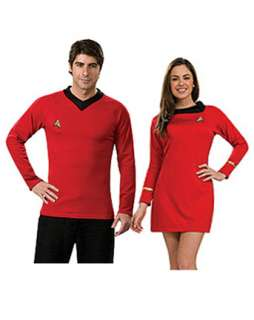 Star Trek Classic Adult Red Dress Couples Costume  Wholesale Couples