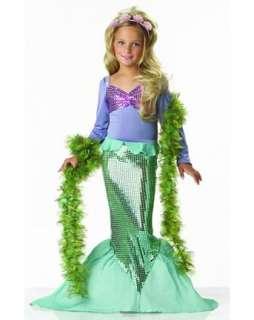 Mermaid Costume   Girls Mermaid Halloween Costumes