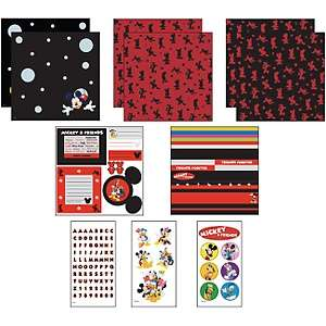 Mickey Mouse and Friends 12 x 12 Page Kit