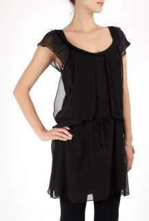 Vanessa Bruno Athé  Black Lace Flapper Dress by Vanessa Bruno Athe