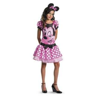Mickey Mouse Clubhouse   Pink Minnie Mouse Child/Tween Costume