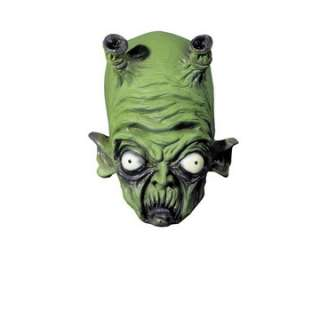Adult Green Alien Monster Mask   Scary Halloween Masks   15DU030