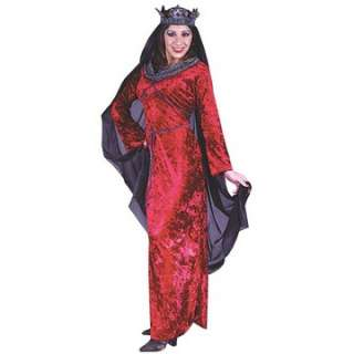 Medieval Queen Costume   Historical Halloween Costumes   15FW5048