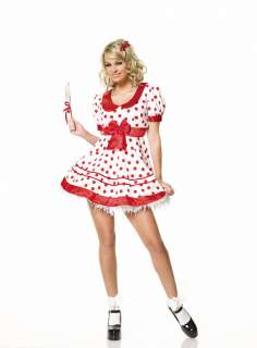 Sexy Lollipop Girl Dress Costume   Sexy Halloween Costumes   15UA83116