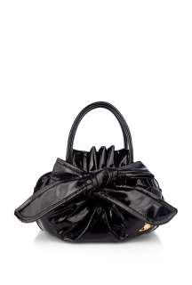 Vivienne Westwood Accessories  Black Bow Small Tote by Vivienne
