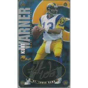 St. Louis Rams 24 Karat Gold Signature Card  LTD Sports & Outdoors