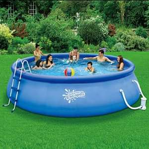 SUMMER ESCAPES ABOVE GROUND FAMILY SWIMMING POOL 16 X 42
