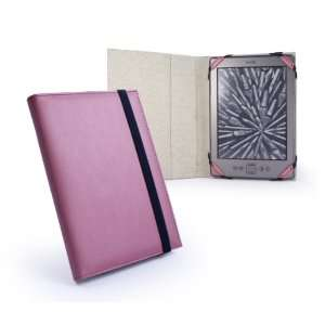 Tuff Luv Slim Book style Leather case cover for Kindle 4