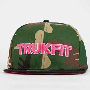 TRUKFIT Camo Culture Mens Snapback Hat 201855946  snapbacks  Tillys