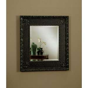 Mirror In Antique Black Frame by Coaster Furniture