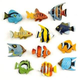 Assorted Plastic Tropical Fish (12) Party Supplies by CelebrateExpress
