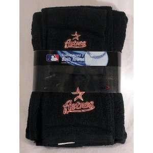 Houston Astros 3 Piece Embroidered Bath Towel Gift Set: