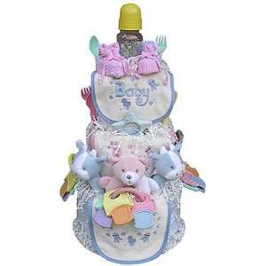 Triplets 3 Tier Diaper Cake Baby