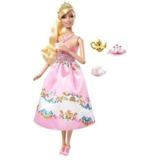 Barbie Princess Tea Party Barbie Doll: Toys & Games