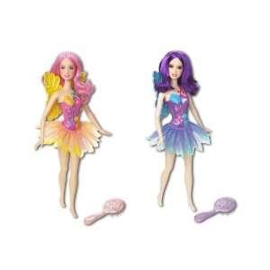 Barbie Fairy Doll   Purple Toys & Games