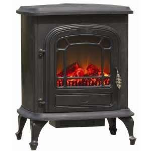 Fire Sense 60353 Black Fire Sense 1350 Watt Electric Fireplace